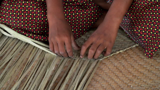 Traditional hand made of wicker.