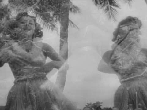 traditional hawaiian dancing - hawaii islands stock videos & royalty-free footage