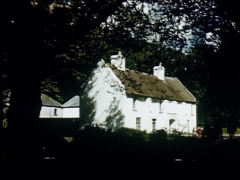 stockvideo's en b-roll-footage met 1947 traditional irish cottage industry - 1947