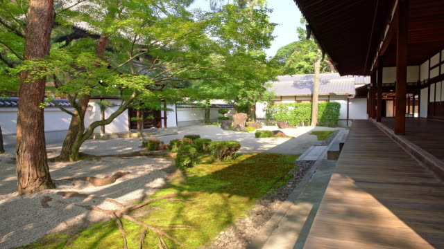 ds traditional japanese house with the garden - oriental garden stock videos and b-roll footage