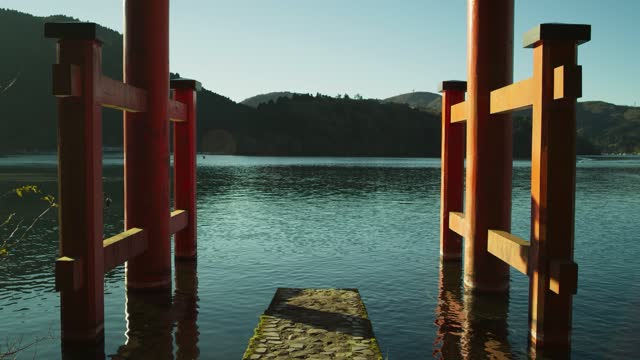 traditional lakeside monument - jetty stock videos & royalty-free footage