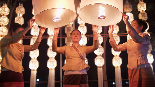 traditional lantern festival - luck stock videos & royalty-free footage