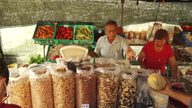 traditional market in malta - plastic bag stock videos and b-roll footage