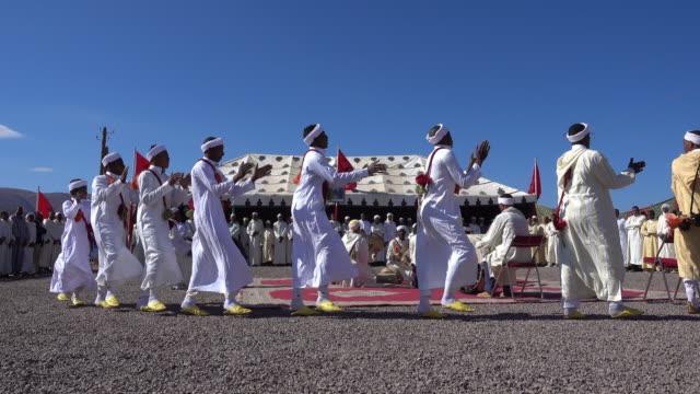traditional music moroccan group - モロッコ文化点の映像素材/bロール