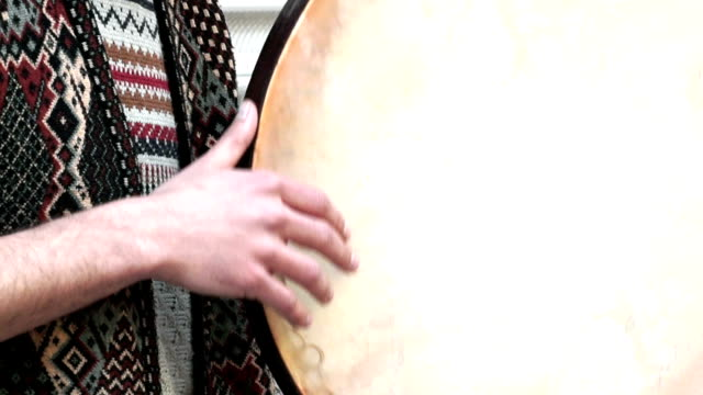 hd: traditional percussion instrument - plucking an instrument stock videos and b-roll footage