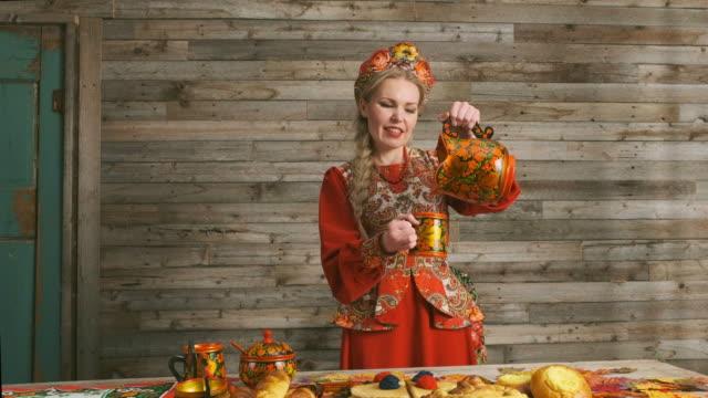 Traditional Russian Karavai Holiday Bread