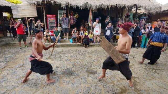 traditional sade village, lombok. - village stock videos & royalty-free footage