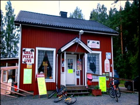 Traditional Swedish cafe Gothenburg Sweden
