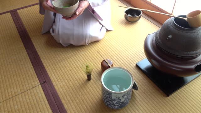 """vídeos y material grabado en eventos de stock de ceremonia del té tradicional """" sado""""  1 a granel de 12/12-k - sado"""