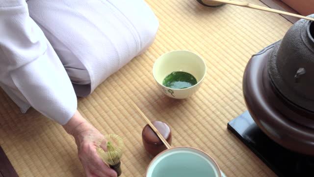 """vídeos y material grabado en eventos de stock de ceremonia del té tradicional """" sado""""  2 granel 3/4-4 k - sado"""