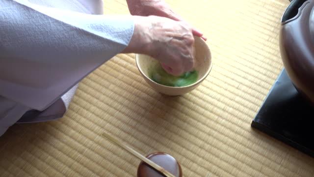 """vídeos y material grabado en eventos de stock de ceremonia del té tradicional """" sado""""  3 granel 3/3 a 4 k - sado"""