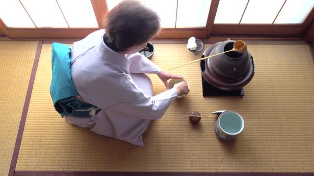 """vídeos y material grabado en eventos de stock de ceremonia del té tradicional """" sado""""  4 total 11/12-k - sado"""
