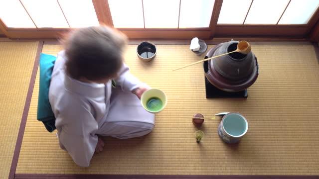 """vídeos y material grabado en eventos de stock de ceremonia del té tradicional """" sado""""  4 a granel 12/12-k - sado"""