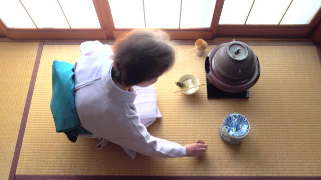 """vídeos y material grabado en eventos de stock de ceremonia del té tradicional """" sado""""  4 granel 2/12-k - sado"""