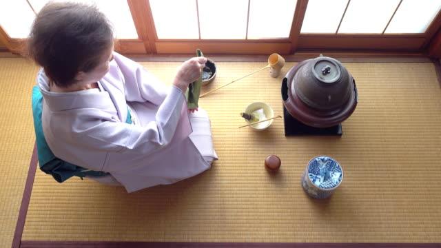 """vídeos y material grabado en eventos de stock de ceremonia del té tradicional """" sado""""  4 granel 3/12-k - sado"""