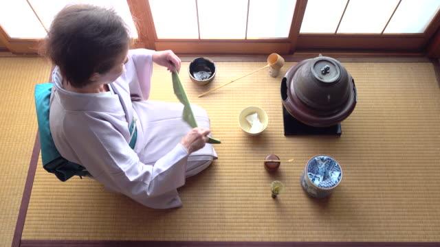 """vídeos y material grabado en eventos de stock de ceremonia del té tradicional """" sado""""  4 a granel 4/12-k - sado"""