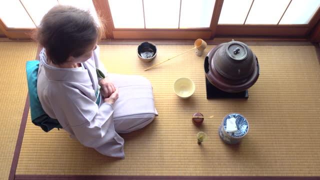"""vídeos y material grabado en eventos de stock de ceremonia del té tradicional """" sado""""  4 a granel 5/12-k - sado"""