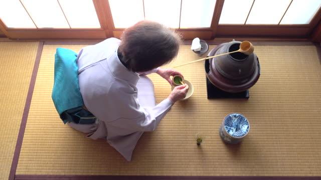 "traditional tea ceremony ""sado"" 4 bulk 9/12 -4k- - tea ceremony stock videos and b-roll footage"