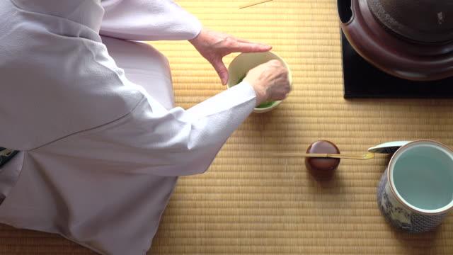 """vídeos y material grabado en eventos de stock de ceremonia del té tradicional """" sado""""  5 granel 3/4-4 k - sado"""