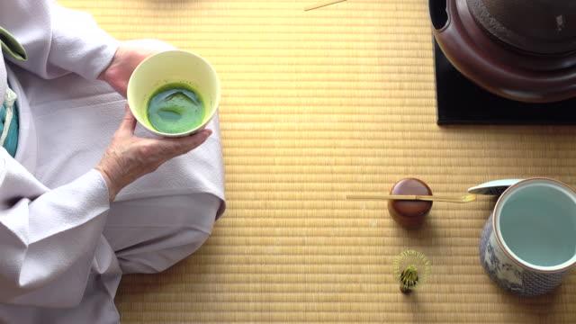 """vídeos y material grabado en eventos de stock de ceremonia del té tradicional """" sado""""  5 a granel 4/4-4 k - sado"""