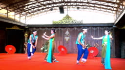 4K Traditional Thai Dance Show