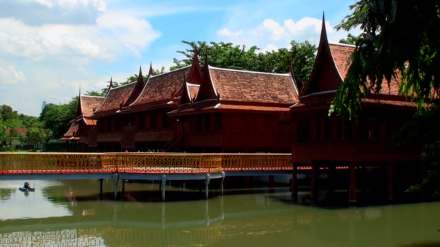 Traditional Thai Houses - Bangkok, Thailand