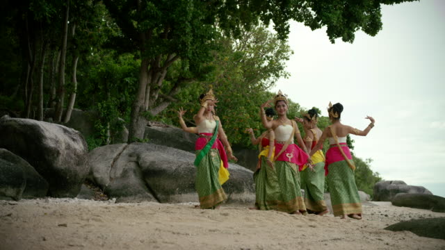 traditional thailand dance - traditional ceremony stock videos and b-roll footage