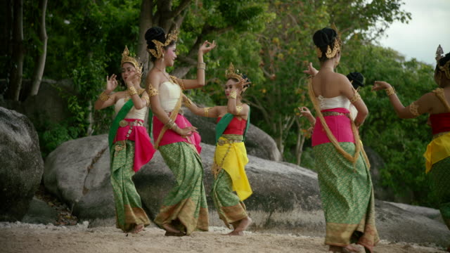 traditional thailand dance - traditional dancing stock videos and b-roll footage