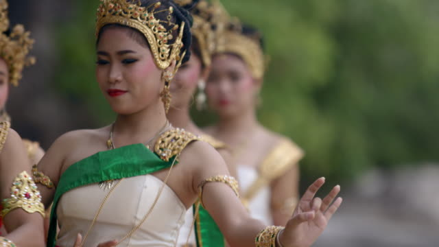 traditional thailand dance - cultures stock videos & royalty-free footage