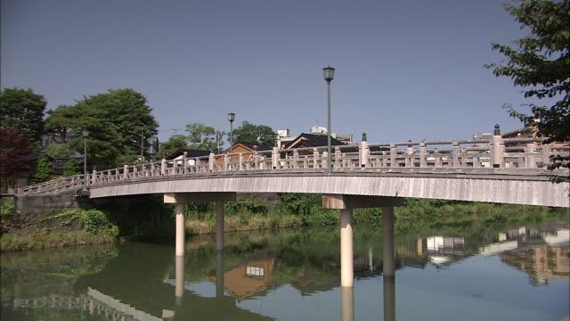 traditional townscape in kanazawa, japan - kanazawa stock videos and b-roll footage
