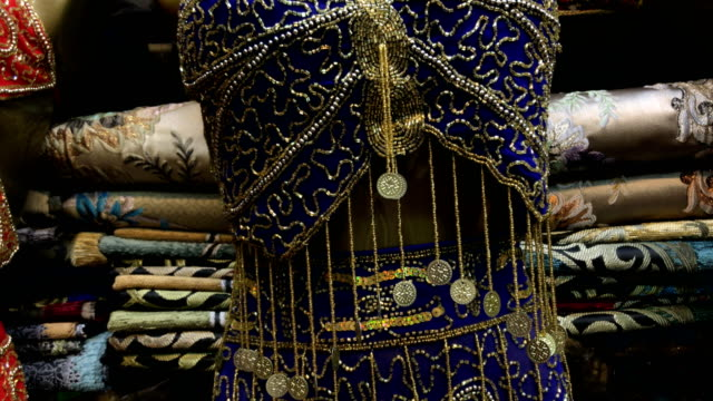 Traditional Turkish Belly Dance Costume at Grand Bazaar