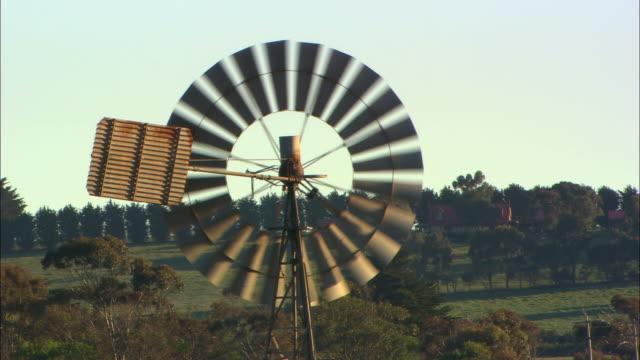 MS, traditional windmill, Australia
