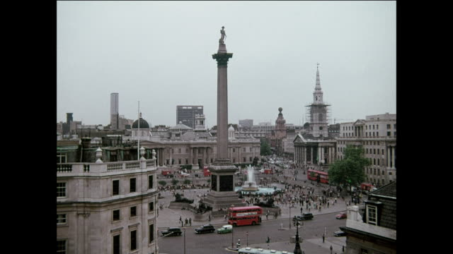 trafalgar square - hat stock videos and b-roll footage