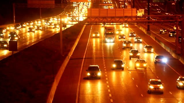 traffic at night,toronto - toronto stock videos & royalty-free footage