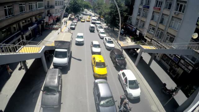 traffic chaos - ankara stock videos and b-roll footage