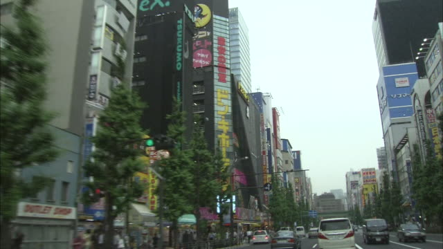 Traffic In Akihabara, Tokyo