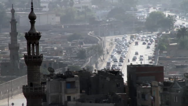 traffic in cario, egypt - cairo stock videos & royalty-free footage
