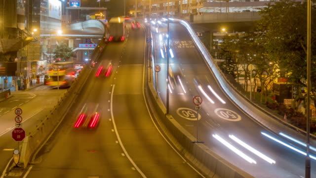 香港中央地区の交通 - 映像技法点の映像素材/bロール