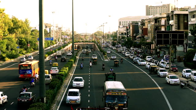 traffic in city, time lapse - transportation stock videos & royalty-free footage