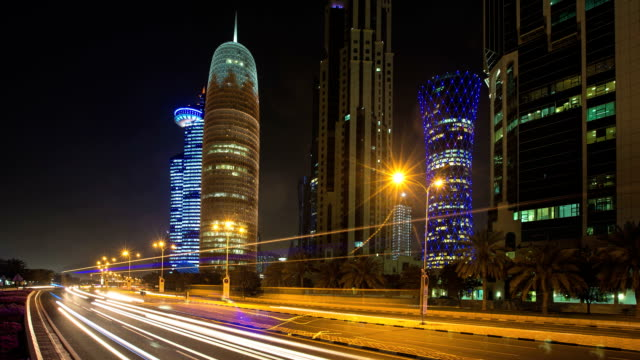 Traffic in Doha