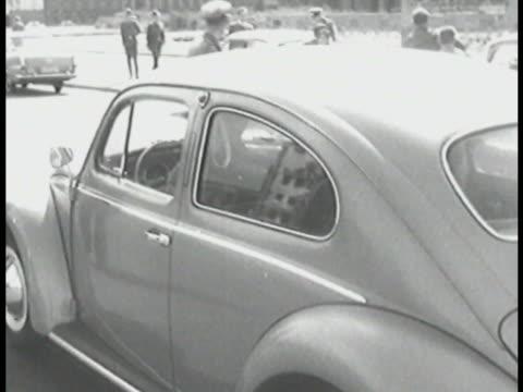 traffic in east berlin - east berlin stock videos and b-roll footage