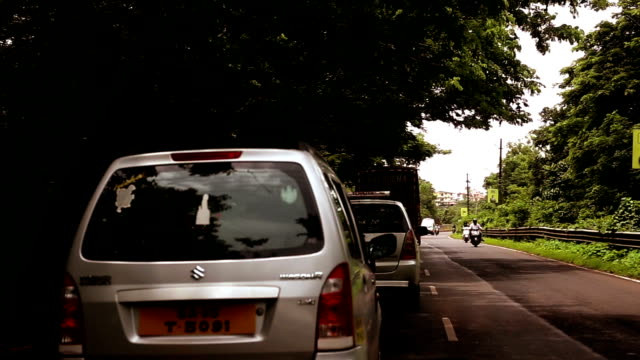 traffic in goa, time lapse - goa stock videos & royalty-free footage