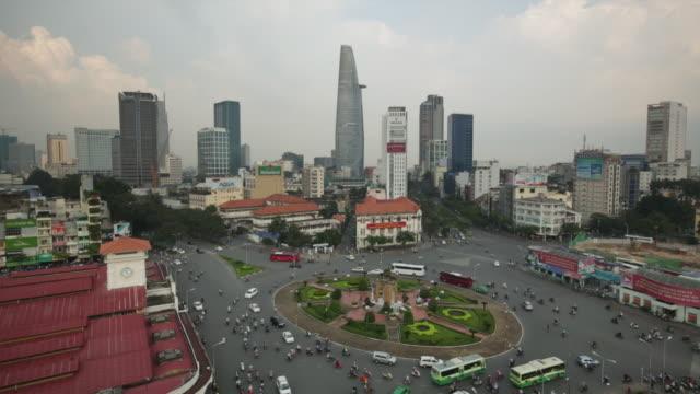 WS Traffic in Ho Chi Minh City, Vietnam.