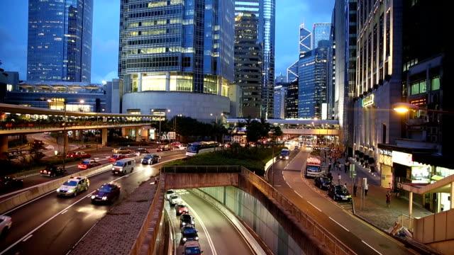 vídeos y material grabado en eventos de stock de hd vdo: tráfico en hong kong - full hd format