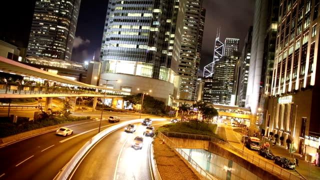 hd vdo : traffic in hong kong - full hd format stock videos & royalty-free footage