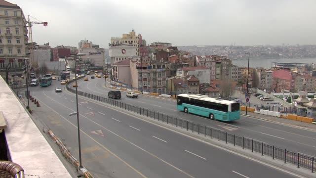 stockvideo's en b-roll-footage met traffic in istanbul - commercieel landvoertuig