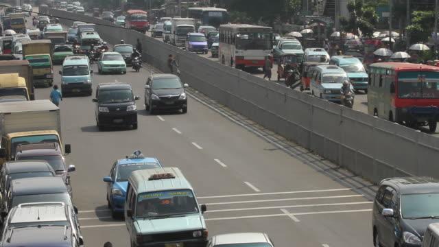 Traffic in Jakarta.