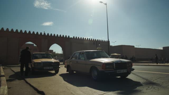 Traffic in Marrakech.
