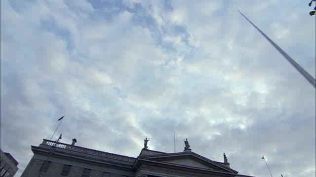 ws la td traffic in o'connol street, dublin, ireland - 2009 bildbanksvideor och videomaterial från bakom kulisserna