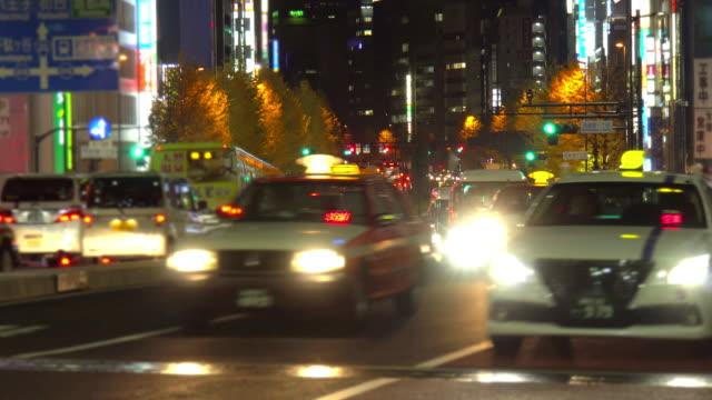 夜新宿東京日本交通します。
